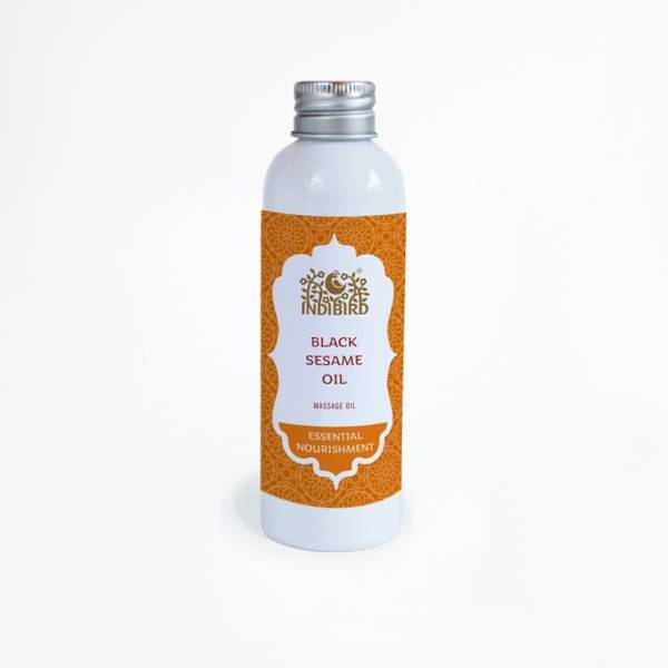 Масло черного кунжута Black Sesame Oil Cold-Pressed 150мл Индия
