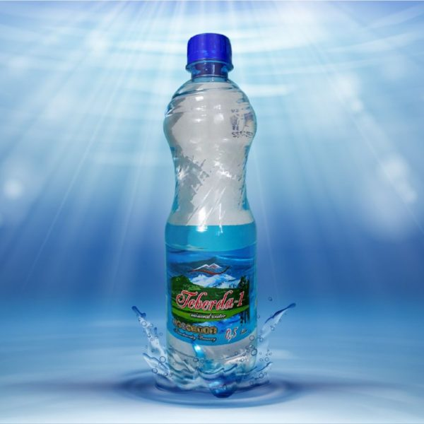 Вода минеральная лечебно-столовая Теберда 1 1,5л пэт