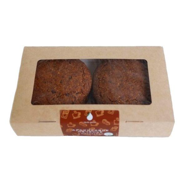 арахисовое печенье с шоколадом volkomoko