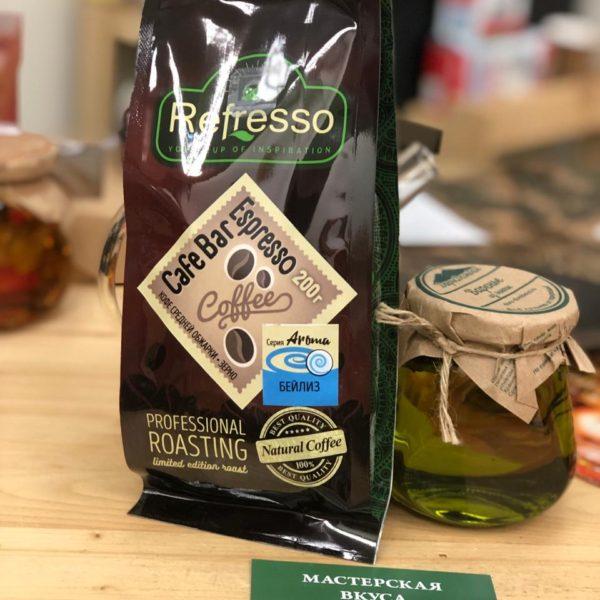 кофе refresso бейлиз зерно 200г