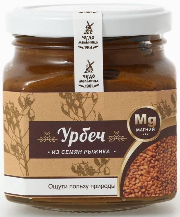 Паста (урбеч) из семян рыжика 260г