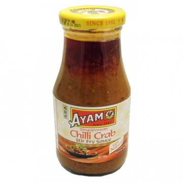 Соус на основе растительных масел Сингапурский чили краб AYAM 250