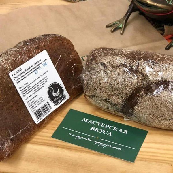 хлеб ржаной ремесленный на закваске без дрожжей
