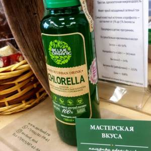 хлорелла живая бионапиток 0,5л believeorganic Мастерская вкуса