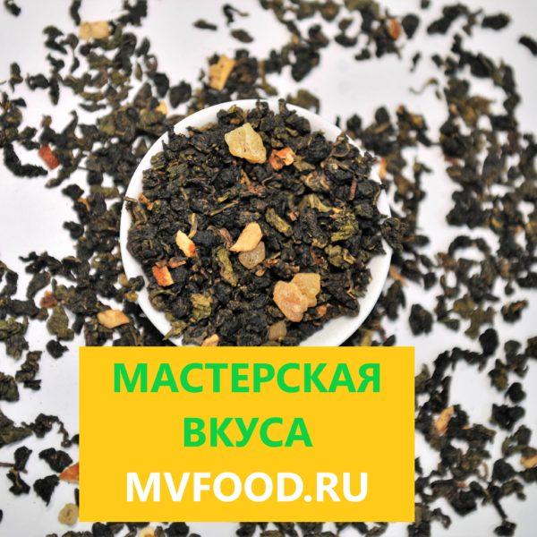цитрусовый улун чай