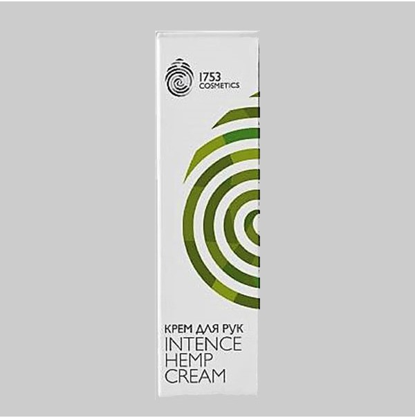 Крем для рук INTENSE HEMP CREAM 1753 COSMETICS 75мл