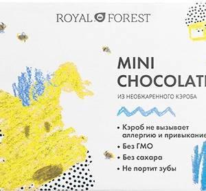 Шоколад на необжаренном кэробе без сахара 30г