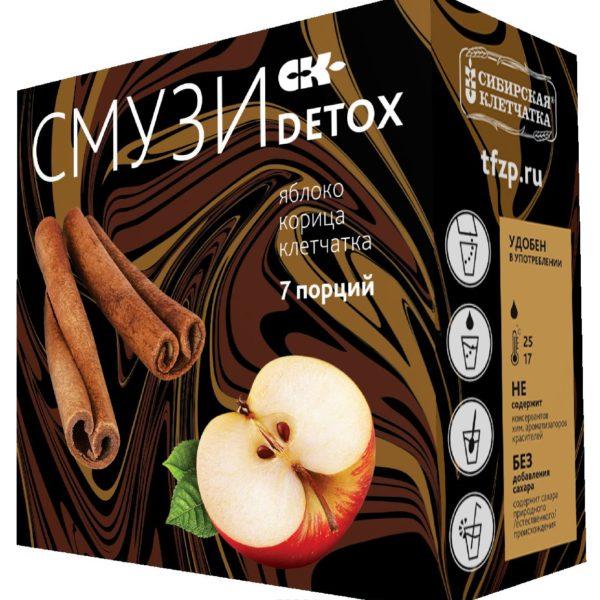 Смузи Detox яблоко и корица 12гx7пакетиков
