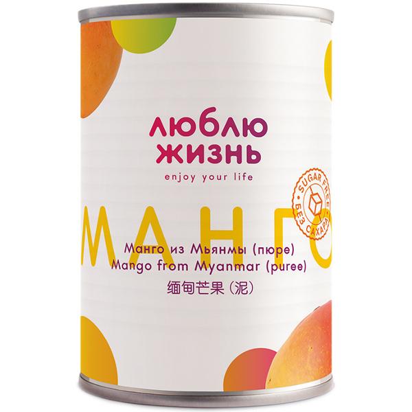манго пюре без сахара