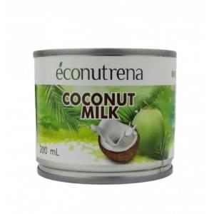 Молоко кокосовое Ecconutrena органик 200мл