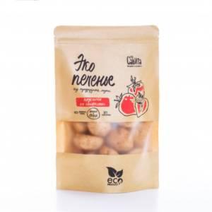 Печенье кукурузное без маргарина и сахара Клубника со сливками 280г
