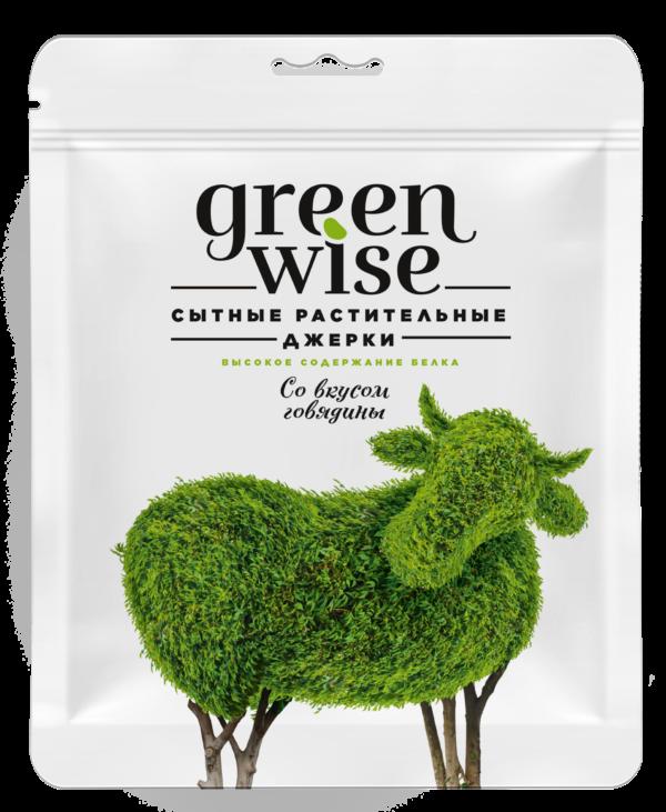 джерки говядина greenwise упаковка