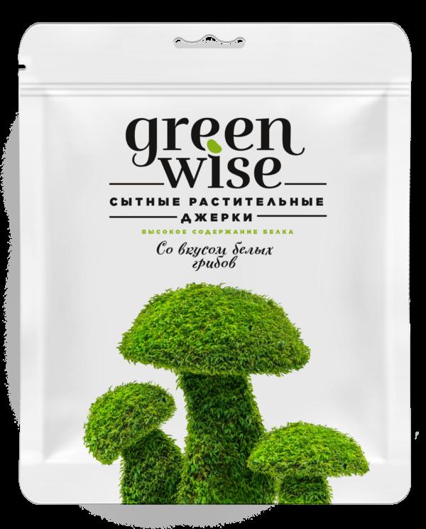 джерки грибы упаковка greenwise