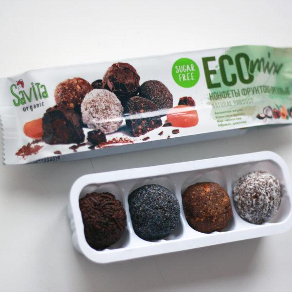 конфеты без сахара фруктово-ореховые 100г Мастерская вкуса