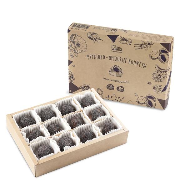 конфеты без сахара мак-чернослив 300г Мастерская вкуса