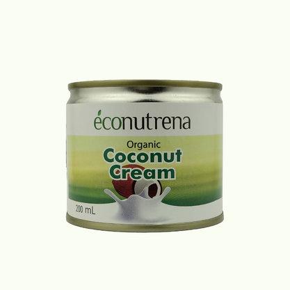 сливки кокосовые econutrena