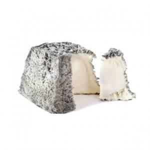Мягкий сыр с белой плесенью в золе Валенсе пирамидка ручной работы 120г