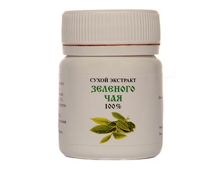Сухой экстракт зеленого чая 100% 25г