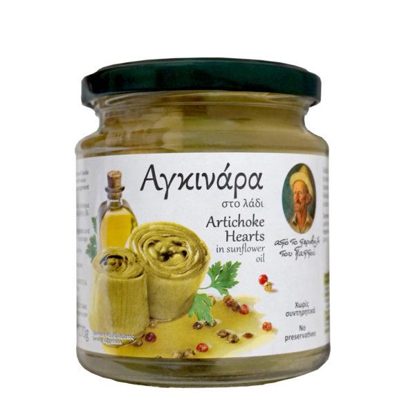 артишоки в масле греция