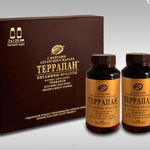 ТЕРРАПАН «Витамины красоты», красота кожи, ногтей и волос