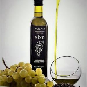 Масло нерафинированное холодного отжима из виноградной косточки 750мл Крым