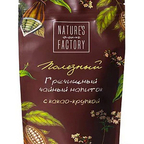 Гречишный чай с какао крупкой 100г Natures own factory в Мастерская вкуса