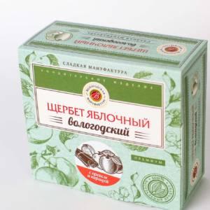 Щербет без сахара с грецким орехом и корицей со стевией 250 гр