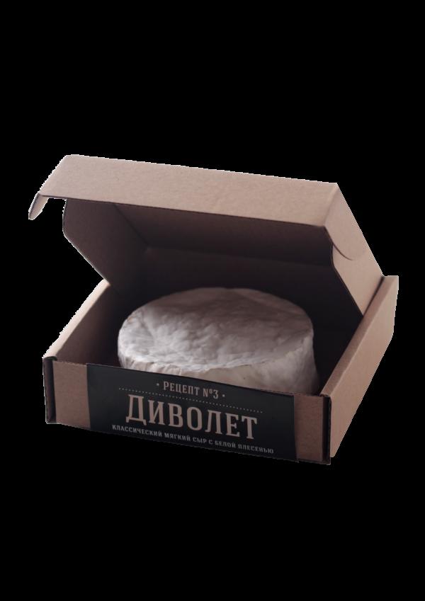 Мягкий сыр с белой плесенью Диволет 120г