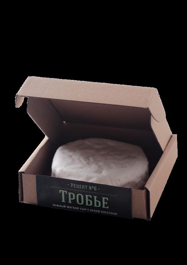 Мягкий сыр с белой плесенью Тробье 130г