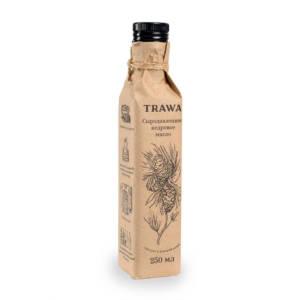 кедровое масло сыродавленное trawa