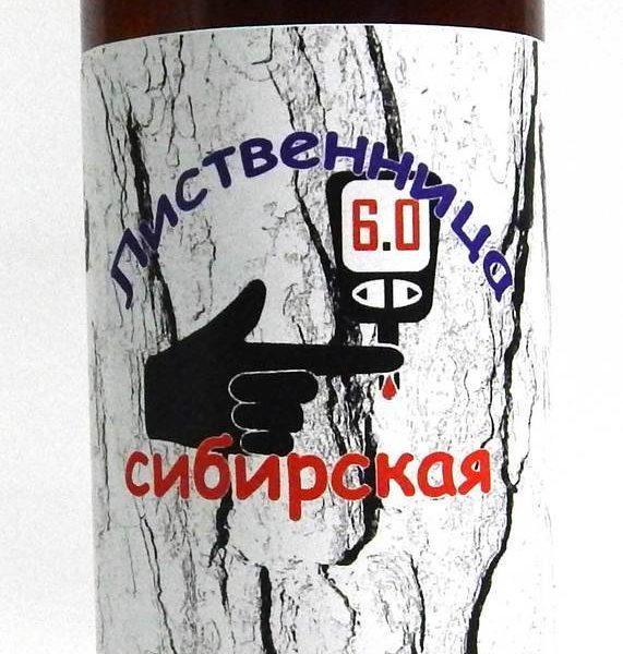 Лиственница сибирская Диабет в норме 100мл Алтай