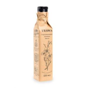 льняное масло сыродавленное trawa