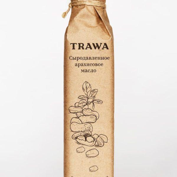 Масло Арахисовое Сыродавленное TRAWA