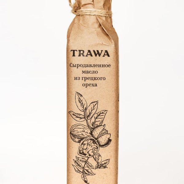 Масло Грецкого ореха Сыродавленное TRAWA бутылка