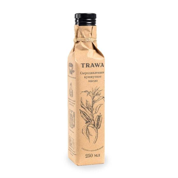 масло кунжутное сыродавленное trawa