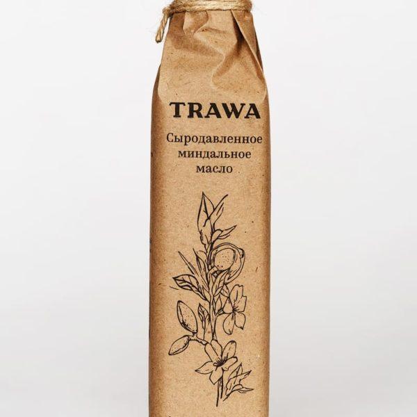 Масло Миндальное Сыродавленное TRAWA