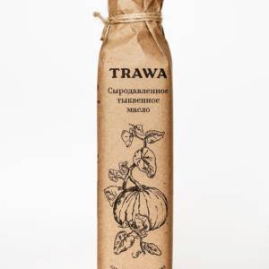 Масло Тыквенное Сыродавленное TRAWA