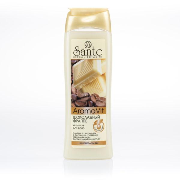 AromaVit Крем-гель для душа Шоколадный фраппе