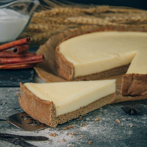 чизкейк ваниль веган без сахара