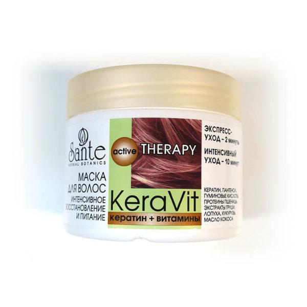 KeraVit Крем Маска для волос Питательная
