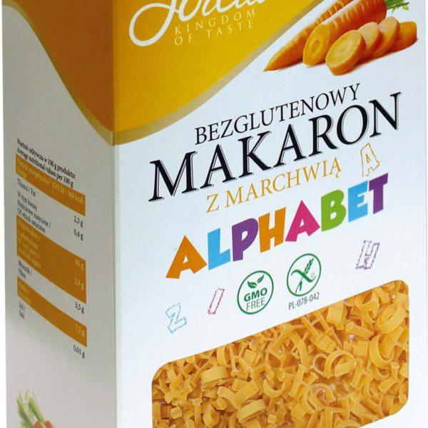 Макароны кукурузные Алфавит морковь безглютеновые 400г