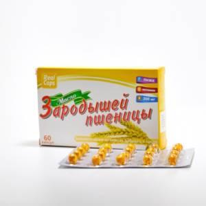 Масло Зародышей пшеницы капс. №60 Реал капс