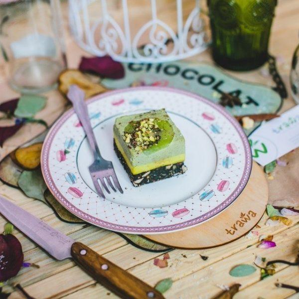 Пирожное Мятный имбирь без сахара raw 90г
