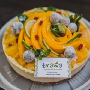 Торт Манговый rawcake без сахара raw