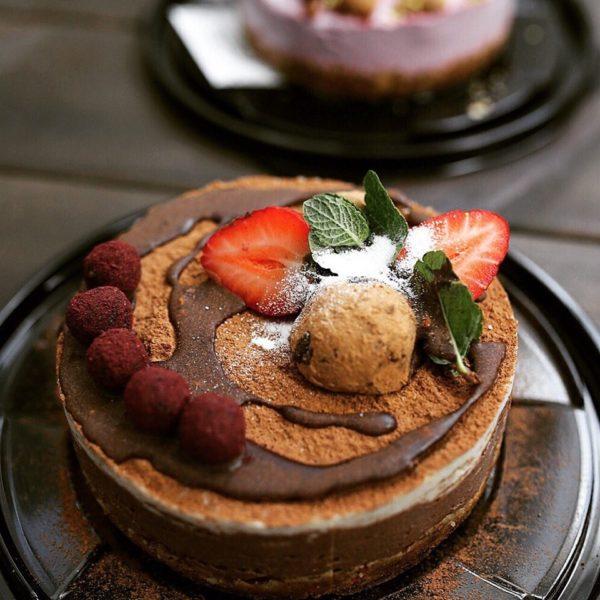 Торт Тирамису Rawcake без сахара raw