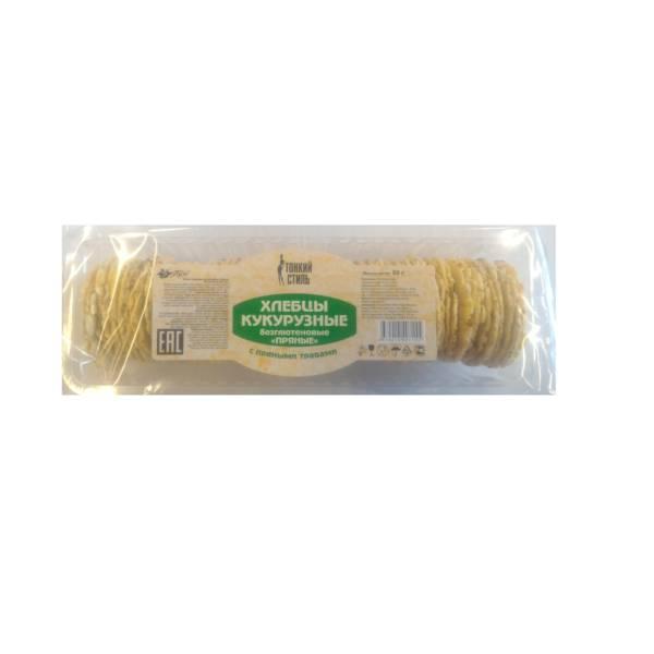 Хлебцы кукурузные с пряными травами БЕЗ ГЛЮТЕНА 60г