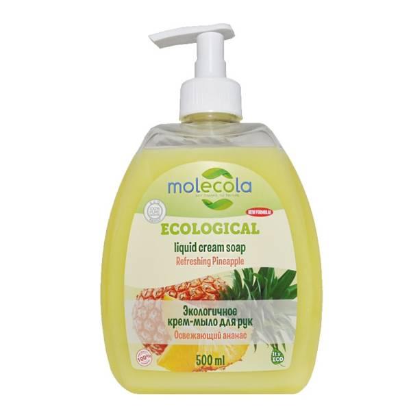 Крем-мыло для рук Ананас 500мл Molecola