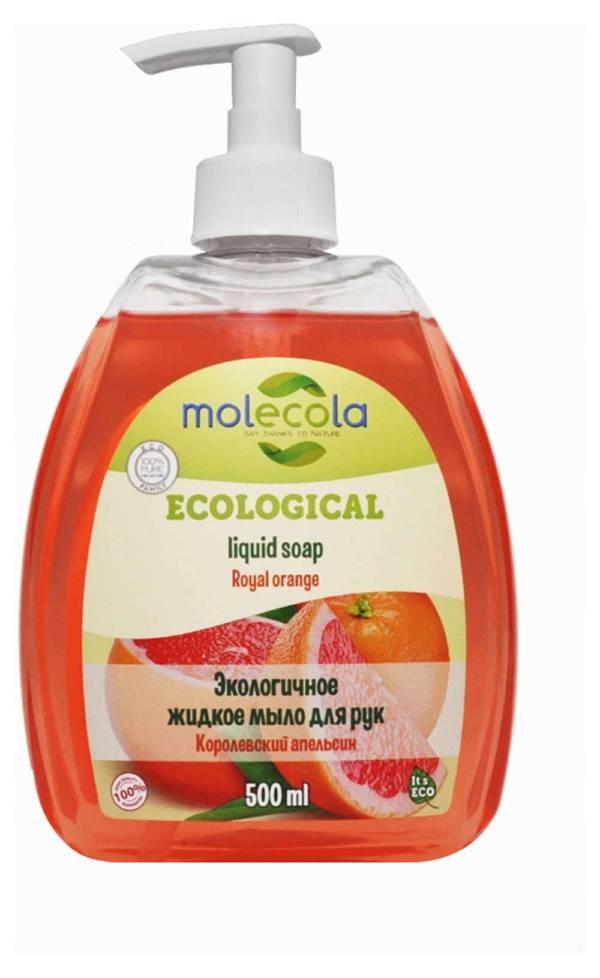 Крем-мыло для рук Апельсин 500мл Molecola