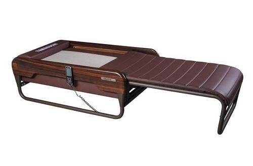 Массажная кровать Yamaguchi Kenko коричневая