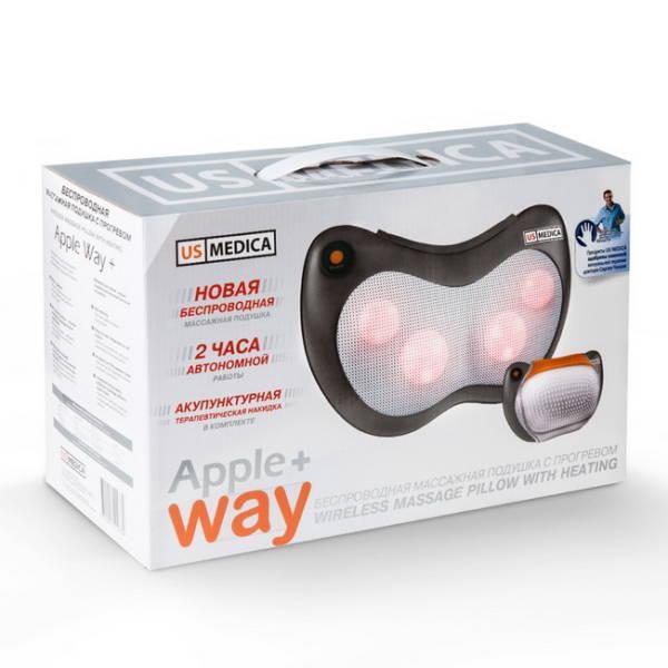 Массажная подушка US Medica Apple Way Plus в коробке